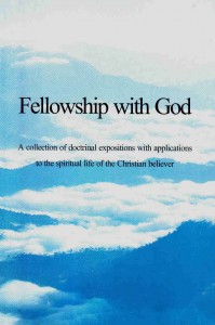 Fellowship With God V.1