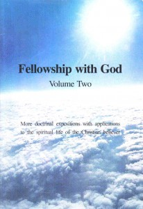 Fellowship With God V.2